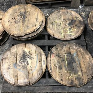 *Extra Rough* Bourbon Whiskey Whisky Barrel Head/Top/Lid/End Oak, AUTHENTIC