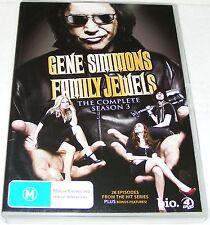 GENE SIMMONS FAMILY JEWELS--Complete Season 3 ---(Dvd 4 Disc Set)