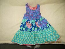 UNBROKEN CIRCLE  BOUTIQUE REVERSIBLE TWO TIER FLORAL DRESS - BRAND NEW w/o TAGS