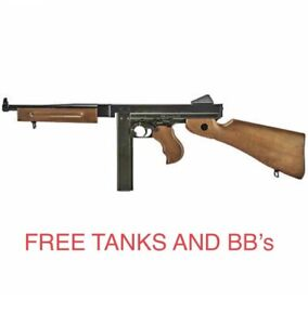 LEGENDS Full Auto Air Rifle M1A1 Co2 Powered .177 BB Replica FREE TANKS AND BB's