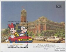Unmounted Mint Never Hinged 1993 Walt-disney Sale Price Lesotho Block109 complete Issue