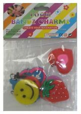 Loom Bandz Charms With Rings Variety Pack - 8 Charms