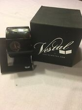 Vestal Women's RSA014 Rosewood Acetate Tortoise and Black Bangle Watch