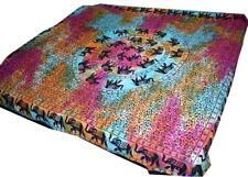 Elephant Mandala Tapestry Wall hanging Cotton hippie Blanket Ethnic bedspread