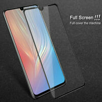 For HUAWEI P30 PRO Full Cover Gorilla Tempered Glass Screen Protector Film Black