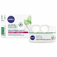 NIVEA CREMA PURE NATURAL IDRATANTE LENITIVA - 50 ML