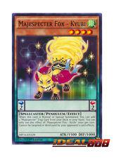 YUGIOH x 3 Majespecter Fox - Kyubi - MP16-EN128 - Common - 1st Edition Near Mint