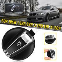Chrome Scheinwerfer Lichtschalter Schwalter für BMW 1er E88 E82 3 E90 E91 X1