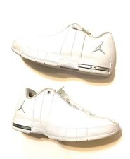 Air Jordan TE2 Mens White US Size 8 Lace Up Basketball Shoes Sneakers A01696-100