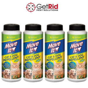 Cat & Dog Animal Repellent Deters Pets Stops Fouling Digging Garden 100% Natural