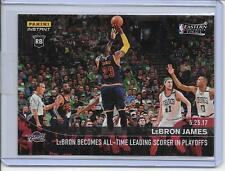 2016-17 Panini Instant LEBRON JAMES #363 /165 Jordan Playoff All-Time Points