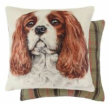 Polyester Tartan Dog Decorative Cushions