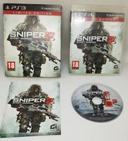 Sniper 2 Ghost Warrior Limited Edition PS3 Game VGC Fast Free Post