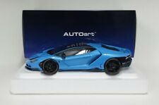 Autoart 1/18 Model Car Lamborghini Centenary 2017 Blue Cepheus Die Cast