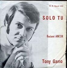 7inch TONY GAMO solo tu EX W.B.SOUND 1530
