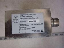 Bopp & Reuther 56-000758 24V Electromagnetic Flow Meter, New