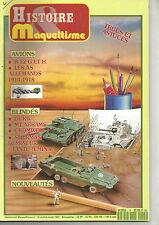 HISTOIRE&MAQUETTISME N°15 B 52 G ET H / AS ALLEMANDS 14-18 / DUKW / M1 ABRAMS