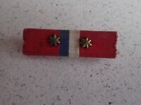 WWII Bar Ribbons, Hinged Pin Mount . (L221)