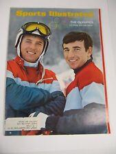 Sports Illustrated Magazine- February 5, 1968 The Olympics U.S Skiers Kidd Heuga
