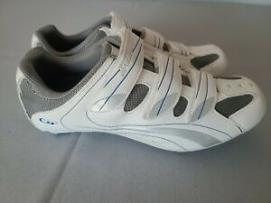 Specialized Women's Cycling Shoes Spirita White 3 Bolt US 9.5 / EU 41 with Clips