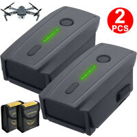 2× DJI Mavic Pro & Platinum Drone LiPo Intelligent Flight Battery 3830mAh 11.4V