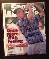 Ben Crenshaw Autographed Complete Sports Illustrated Magazine SI Golf