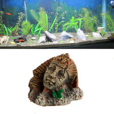 Egyptian Pharaoh Ancient Sphinx Ruins Aquarium Ornament Fish Tank Decoration