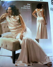 RETRO 1930s EVENING GOWN DRESS McCALLS SEWING PATTERN 14-16-18-20-22 UC