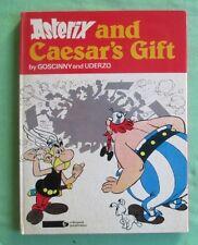 Asterix 1977 hardcover comic book - Asterix & Caesar's Gift