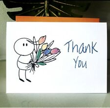 10 Thank You Cards Thankyou Pack Birthday Gift Christmas Baby Anniversary Card