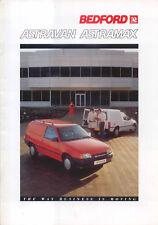 Vauxhall Bedford Astravan Astramax Original UK Sales Brochure 1988