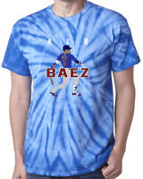 Tie-Dye Javy Baez Chicago Cubs AIR PIC T-Shirt