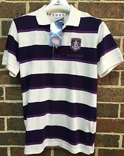 New Official AFL Fremantle Dockers Football Club Polo Shirt Top Youth Size 16
