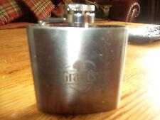 grants scotch whiskey hip flask