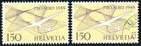 SCHWEIZ 1949, MiNr. 518 a, postfrisch und gestempelt, Mi. 90,-