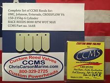 CCMS OMC Johnson Evinrude Racing Outboard Reed Valves  150-235 hp V6 C/F PN164R