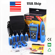 From USA AT112 Multipurpose Network Cable Tester Tracker Tracer RJ11 RJ45 BNC