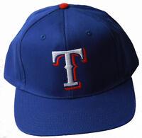 Texas Rangers MLB Snapback Adjustable Hat, Blue + Includes GT Wristband
