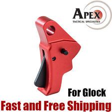 Apex Tactical Action Enhancement Aluminum Trigger for Glock Gen1-4 Red (102-152)