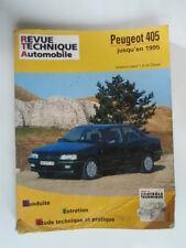 REVUE TECHNIQUE AUTOMOBILE PEUGEOT 405 JUSQU'EN 1995 ESS (SAUF 1.4) & DIESEL