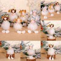 Christmas Gifts Xmas Tree Hanging Pendant Angel Doll Ornament Home Table Decor