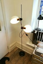 Vintage retro mid century Guzzini spa standard floor lamp light Guzzini 1970s