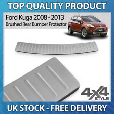 FORD KUGA 2008-2013 POLISHED CHROME STAINLESS STEEL REAR BUMPER PROTECTOR COVER