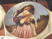 The Danbury Mint Making Friends by George Molnar Porcelain Plate-COA #25