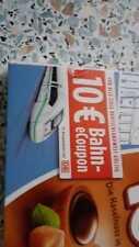 10€  eCoupon DB Deutsche Bahn Gutschein IC/EC/ICE
