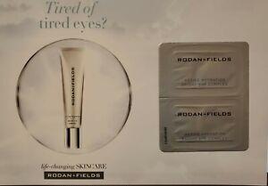 Rodan + Fields Active Hydration Bright Eye Complex 6 Sample Cards