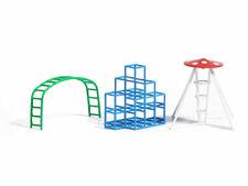 Busch 1164 Spielplatz Klettergeräte Fertigmodelle 1:87 H0 Neu