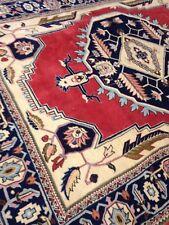 Spectacular Tribal Authentic Persian Serapi Heriz Area Rug 8' X 10' Geometric