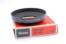 Vivitar 58mm Screw-in Metal Super Wide Lens Hood / Shade