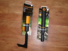 2tlg. Fiskars Quick Fit- Fugenkratzer mit 24cm Stiel   Garten/ Pflaster/ Rasen